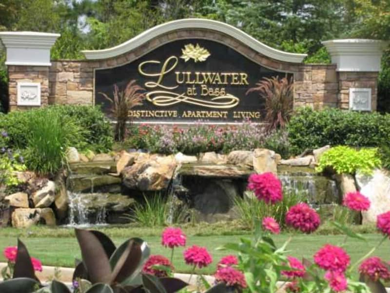 Entrance - monument sign