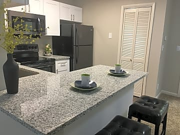 1.1 Granite Kitchen Island
