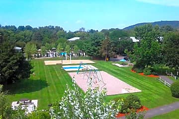 At Sugarloaf Estates, you have so many great outdoor amenities to enjoy - a pool, sand volleyball court, swing set, basketball court, and picnic areas!