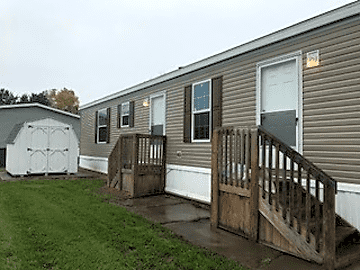 2BR/2Bath. Lot 87. Rents for $825.00
