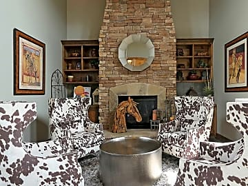 Clubhouse Fireplace