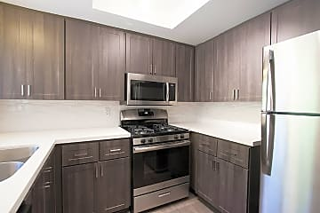 Stainless steel appliance package in upgraded homes