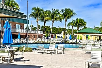 Capri F club house & pool (of 5 pools). Snack bar building to right.jpg
