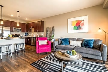 Our open layouts are modern and inviting.
