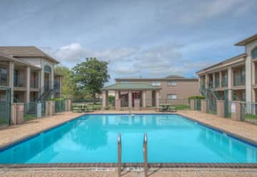 Sparkling Pool at Gardenview Apartments in Pasadena, TX