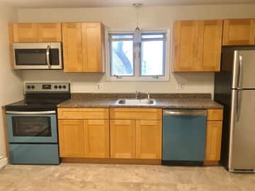 New Stainless Kitchens with custom cabinets and granite!