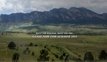 Lease now for Summer 2019