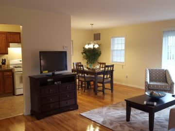 Living Room/Dining Room One Bedroom