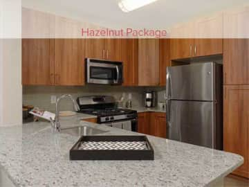 Renovated Hazelnut Package Kitchen