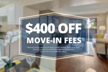 Specials savings coupon $400 off
