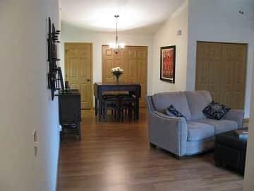 Upper--Living/Dinig Rooms