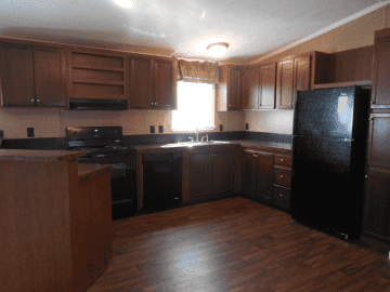 great kitchen with open floor plan