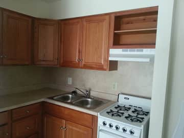 Fully Equipped Kitchens at B'nai B'rith Senior Apartments in Wilkes-Barre, PA