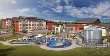 Resort Style, Salt Water Pool