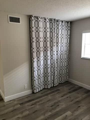 New Flooring / Window Treatments