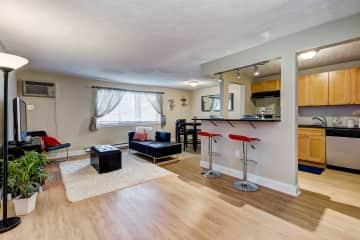 Suite Living Room & Kitchen