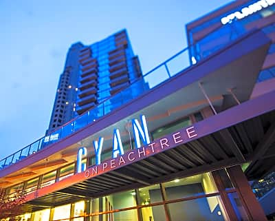 Cyan on peachtree peachtree rd ne atlanta ga - Cheap 1 bedroom apartments in atlanta ...