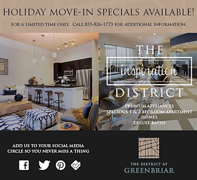District At Greenbriar - Houston, Texas 77098