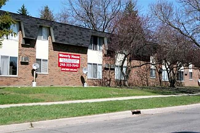 Waverly House Apartments - Pontiac, Michigan 48340