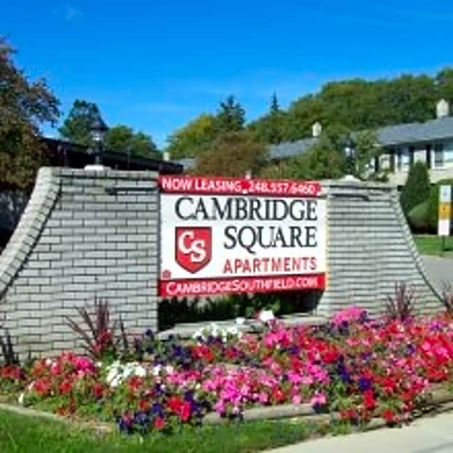 Cambridge Square Apartments - Southfield, Michigan 48076