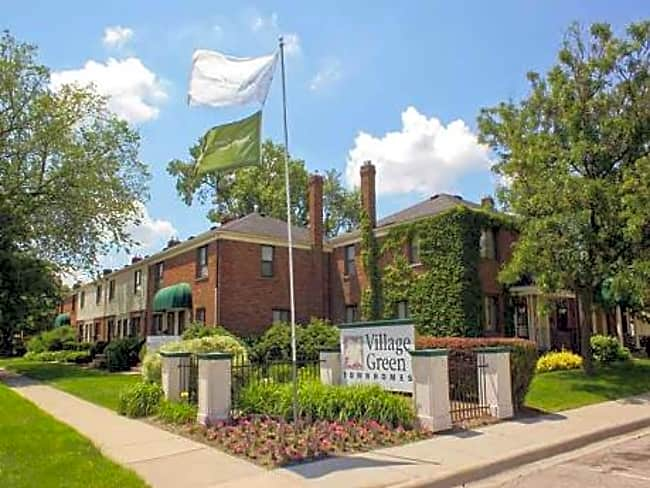 Village Green Townhomes - Ferndale, Michigan 48220