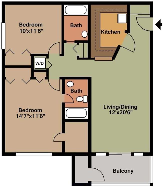 Emejing Woodmill Apartments Dover De Contemporary - Amazing ...