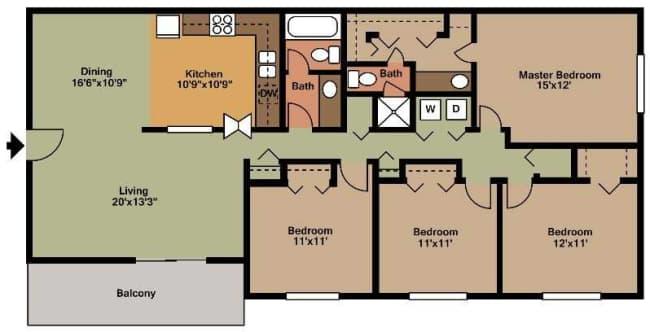 Bradford Woods - Edmonson Pike | Nashville, TN Apartments for Rent ...