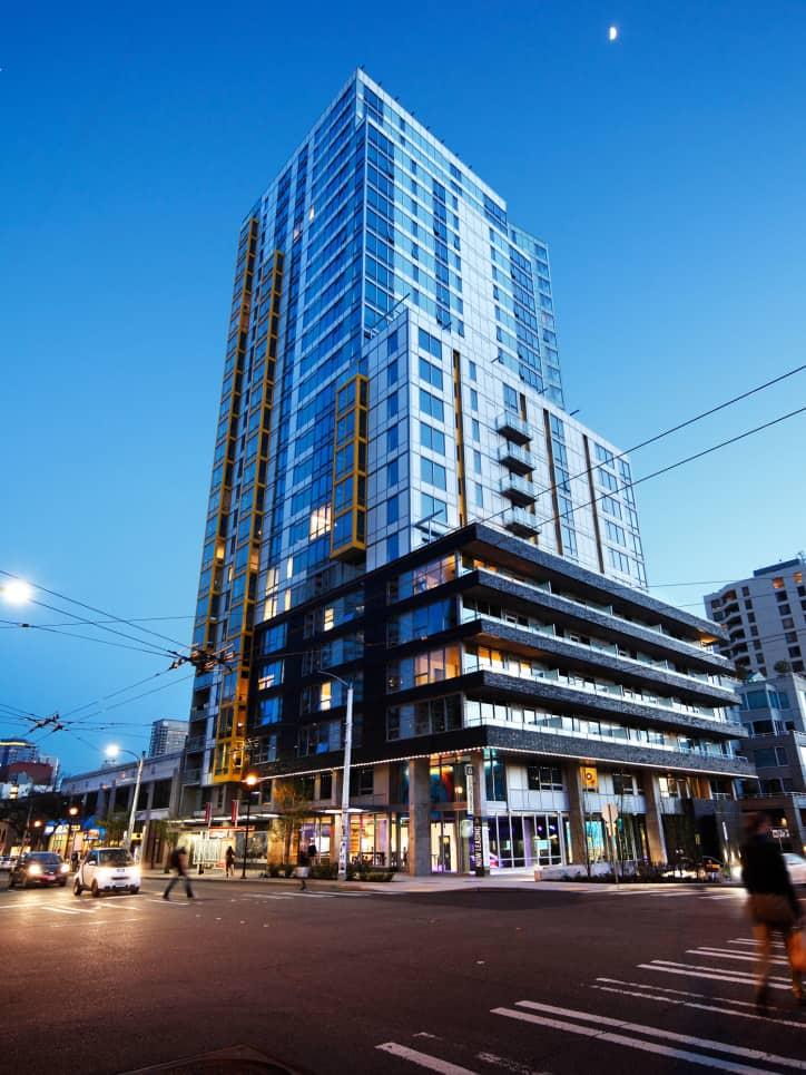 Dimension Apartments  High Rise Apartments Seattle