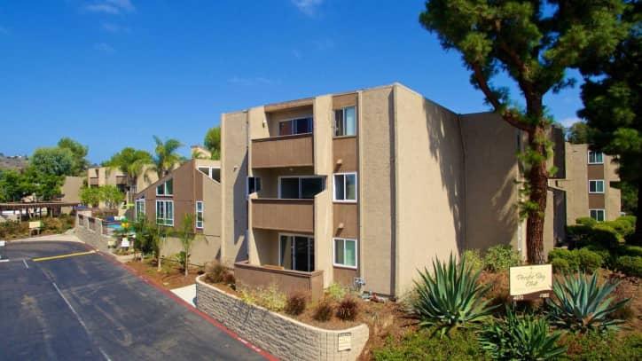 pacific bay club apartments - san diego, ca 92117
