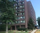 The Knickerbocker Apartments, Bay High School, Bay Village, OH