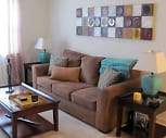 Living Room, Foxcroft Village Apartments