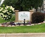 Blaine Courts, Westwood Intermediate School, Blaine, MN