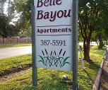 Belle Bayou, River Oaks School, Monroe, LA