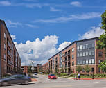 Apartments at the Yard: Dorchester West, Thomas A Edison Intermediate School, Columbus, OH