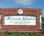 Entrance Sign, Seaside Grove at Carolina Forest