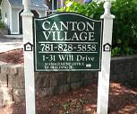 Canton Village, 02072, MA