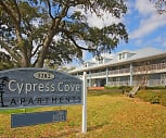 Community Signage, Cypress Cove Luxury Beach Front Apartments