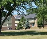Pine Villa Apartments, Hillcrest Elementary School, Alma, MI