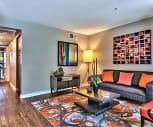 Living Room, Desert Flower Apartments