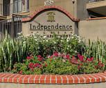 Community Signage, Independence Plaza