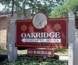 Sign, Oakridge