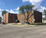 Grant Park Apartments, B R Miller Middle School, Marshalltown, IA