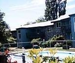Pool view, Crystal Manor