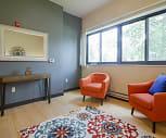 Living Room, Roosevelt School Apartments