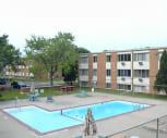 Fremont Court Apartments, Poplar Bridge Elementary School, Bloomington, MN