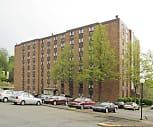 Douglas Plaza Apartments, Wilkinsburg Senior High School, Wilkinsburg, PA