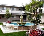 Pool, Lorenzo Commons Apartments