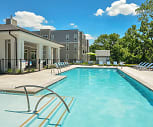 Pool, Westside Apartments & Shopping