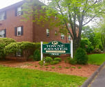 Towne Estates Apartments, Winthrop Elementary School, Melrose, MA