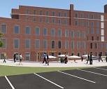 Rendering, The Collar Factory Lofts